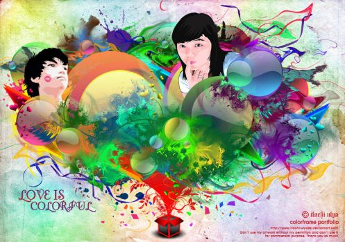 Love Is Colorful by itachi-ulya22