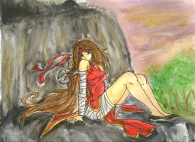 Watercolour Ninja by Avro-Chan