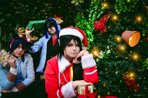 K Project - Christmas O1 by NeeYumi