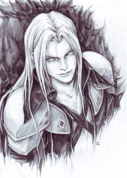 Sephiroth_1 by Roncheg