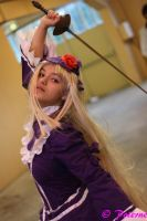 Cosplay lia from ''chevalier d'eon'' by RomyCosplay