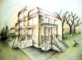 house by dr4wing-pencil