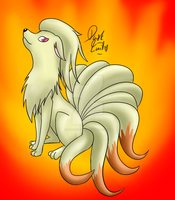 Ninetales by Debadgerter