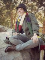 Fourth Doctor Cosplay - 3 by Revolution-Nein