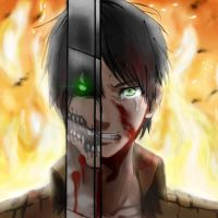 SNK/Attack On Titan: Eren Jaeger/Titan by Imaginary2095