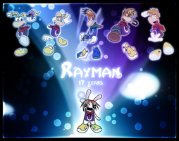 17 Years of Rayman by Gav-Imp