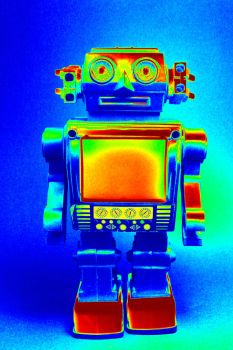 Technicolor robot with nothing to show... by geoffreypeeters