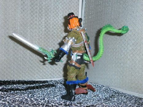 PackRat MotU Custom ActionFigure Left side by:Gore by BooRat