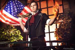 Booker DeWitt - BioShock Infinite by frosel