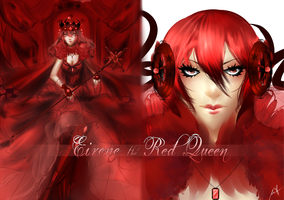 Eirene the Red Queen by Rumbl3Fish