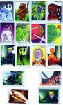 Starwars sketchcards perspectives H2 by TomKellyART