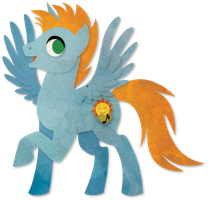 HarmonyStar MLP Paper Vector by Sleepwalks