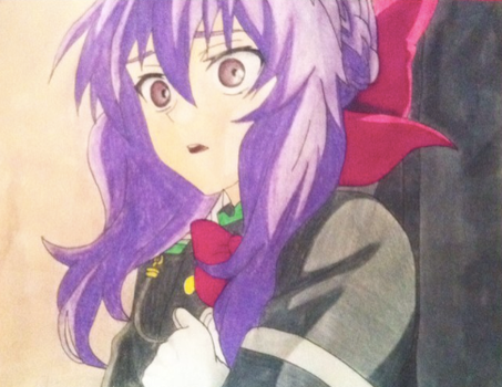 Shinoa Done by rin-rose-art