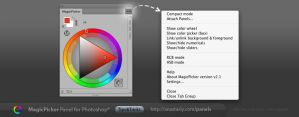 Tip#3: MagicPicker Photoshop color wheel settings by Anastasiy
