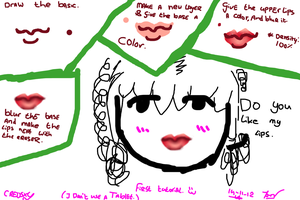 Tutorial about lips by Creosxy