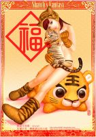 YEAR OF TIGER CELEBRATION by shawli2007