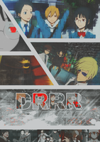 DRRR Poster by Axela-The-Nobody