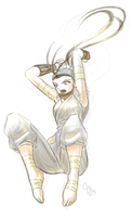 Sketch: Ibuki by Claymore32