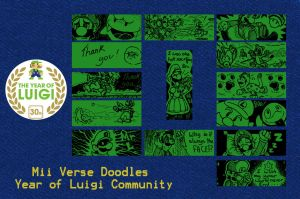 Year of Luigi Community by WhiteOkami