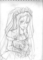Berny's Wedding Sketch by Epic-the-Great