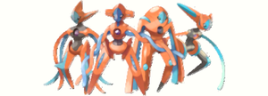 Deoxys: All forms by scriptureofthescribe
