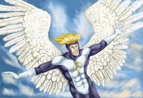 Warren Worthington III by LaguzLake