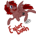 More Ember Dash by reigned-wings