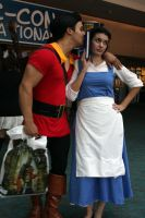 Belle and Gaston -again- by Sirika
