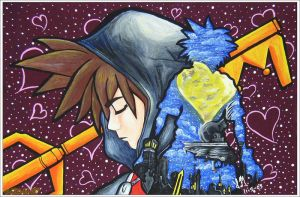 Kingdom Hearts: Sora by LisaDaTimberwolf