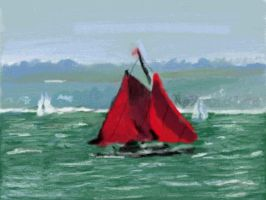 Art Academy Sailboat by Nevertime