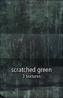 scratched green textures by rainbows-stock