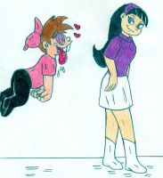 Timmy and Trixie by Jose-Ramiro