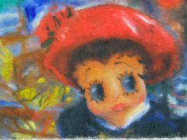 Betty in a Red Hat by artistf2