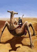 Spider-Camel by Chestbearman
