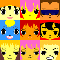 Parappa Icons by AskMa-San