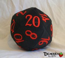 D20 plush by Astreum87