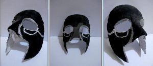 Ezio Auditore mask by LucecitaMuerte