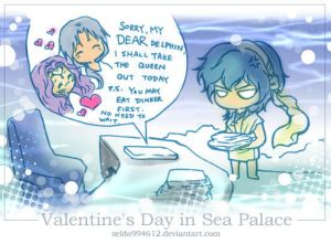 Valentine's Day in Sea Palace