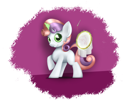 Sweetie Belle by Wreky