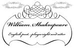 business card : William Shakespeare 2014 by darshan2good