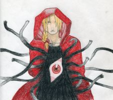 Edward Elric by Roseyred-1