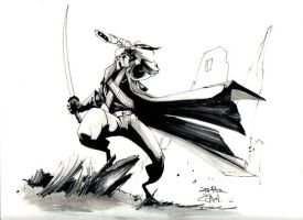 Grifter Sketched by Shadowgrail