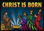 CHRIST IS BORN by inspired-imaging