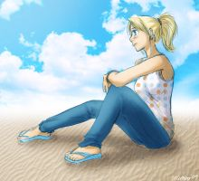 On The Beach by mumpo