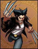Wolverine cartoony by logicfun