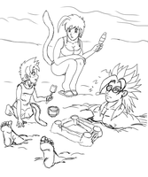 beach time WIP by ShinTheDragonFighter