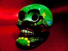 Mexican Skull by SkandaBCN