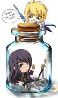 Yuri in a Bottle by Altiera