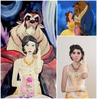 Beauty and the Beast by TioUsui