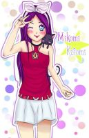 .::Mikomi Kisomi::. by Me-and-Missy